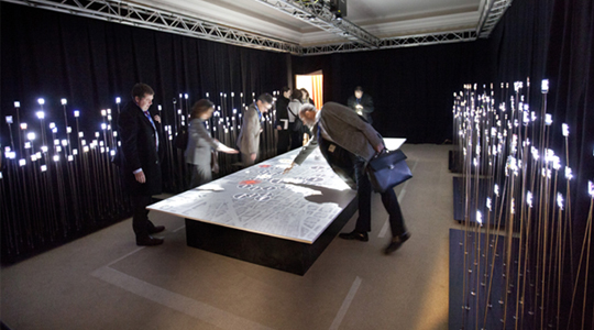 Interactive Table (Barcelona, 2012)